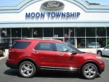 2013 Ruby Red Metallic Ford Explorer Limited EcoBoost #67270961