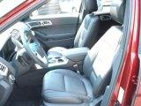 2013 Ford Explorer Limited EcoBoost Charcoal Black Interior