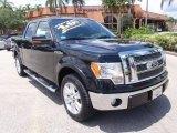 2010 Tuxedo Black Ford F150 Lariat SuperCrew #67340278