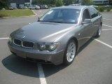 2003 Sterling Grey Metallic BMW 7 Series 745Li Sedan #67340604