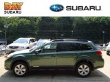 2012 Cypress Green Pearl Subaru Outback 2.5i Premium #67340272
