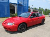 2003 Victory Red Chevrolet Cavalier Coupe #67340270