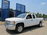 2013 Summit White Chevrolet Silverado 1500 LT Extended Cab 4x4 #67340264