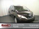 2012 Black Toyota Sienna LE #67340589