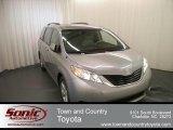 2012 Sandy Beach Metallic Toyota Sienna LE #67340588