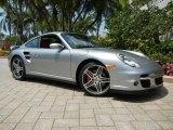 2007 GT Silver Metallic Porsche 911 Turbo Coupe #67340567