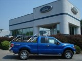 2012 Blue Flame Metallic Ford F150 XLT SuperCab 4x4 #67340168