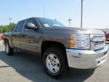 2012 Mocha Steel Metallic Chevrolet Silverado 1500 LT Crew Cab #67340489