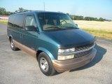 1999 Chevrolet Astro LS Passenger Van Front 3/4 View