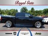 2012 Black Dodge Ram 1500 Sport Crew Cab 4x4 #67340797