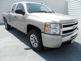 2009 Silver Birch Metallic Chevrolet Silverado 1500 LS Extended Cab 4x4 #67340469