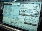 2012 Honda CR-V LX Window Sticker