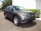 2012 Polished Metal Metallic Honda CR-V LX #67340093