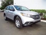 2012 Alabaster Silver Metallic Honda CR-V LX #67340092