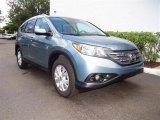 2012 Opal Sage Metallic Honda CR-V EX-L #67340089