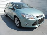 2012 Frosted Glass Metallic Ford Focus SE 5-Door #67340462