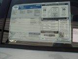 2012 Ford Focus SE 5-Door Window Sticker