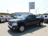 2010 Imperial Blue Metallic Chevrolet Silverado 1500 LT Extended Cab 4x4 #67340445