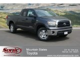 2012 Magnetic Gray Metallic Toyota Tundra TRD Double Cab 4x4 #67340044