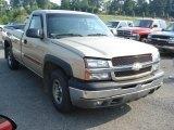2004 Sandstone Metallic Chevrolet Silverado 1500 LS Regular Cab 4x4 #67340413