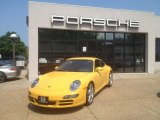 2007 Speed Yellow Porsche 911 Carrera S Coupe #67340691