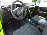 2012 Jeep Wrangler Sport 4x4 Black Interior