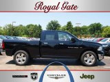 2012 Black Dodge Ram 1500 Big Horn Quad Cab 4x4 #67402140