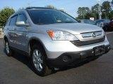 2009 Alabaster Silver Metallic Honda CR-V EX-L 4WD #67402399