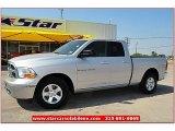 2011 Bright Silver Metallic Dodge Ram 1500 SLT Quad Cab #67402275
