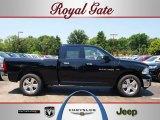 2012 Black Dodge Ram 1500 Big Horn Quad Cab 4x4 #67402364