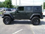 2012 Jeep Wrangler Unlimited Natural Green Pearl