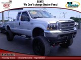 2004 Silver Metallic Ford F250 Super Duty XLT SuperCab 4x4 #67402356