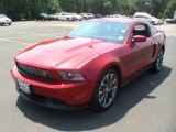 2011 Red Candy Metallic Ford Mustang GT/CS California Special Coupe #67402088
