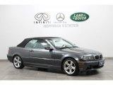 2005 Sparkling Graphite Metallic BMW 3 Series 325i Convertible #67402343