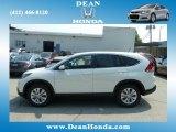 2012 White Diamond Pearl Honda CR-V EX 4WD #67402322