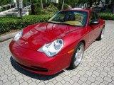 2002 Porsche 911 Orient Red Metallic