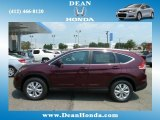 2012 Basque Red Pearl II Honda CR-V EX-L 4WD #67402319