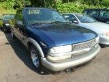 Indigo Blue Metallic Chevrolet S10 in 1998