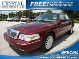 2009 Dark Toreador Red Metallic Mercury Grand Marquis LS #67402311
