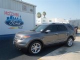 2013 Sterling Gray Metallic Ford Explorer Limited #67429645