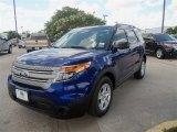 2013 Deep Impact Blue Metallic Ford Explorer FWD #67429629