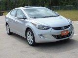 2013 Shimmering Air Silver Hyundai Elantra Limited #67430311