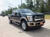 2012 Green Gem Metallic Ford F250 Super Duty King Ranch Crew Cab 4x4 #67430306