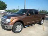 2012 Golden Bronze Metallic Ford F150 Lariat SuperCrew 4x4 #67429608