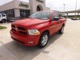 2012 Flame Red Dodge Ram 1500 Express Regular Cab #67429951
