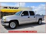 2005 Silver Birch Metallic Chevrolet Silverado 1500 LS Crew Cab #67429947