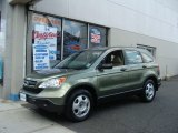 2009 Green Tea Metallic Honda CR-V LX 4WD #67430257