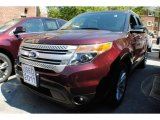 2011 Bordeaux Reserve Red Metallic Ford Explorer XLT 4WD #67429938