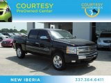 2009 Black Granite Metallic Chevrolet Silverado 1500 LT Crew Cab #67430237