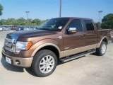 2012 Golden Bronze Metallic Ford F150 King Ranch SuperCrew 4x4 #67429568